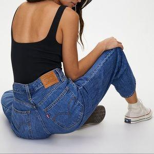 """Levi's 559 Dad Jeans 28 Raw Hem 26.5""""L"""